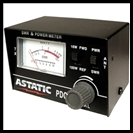 ASTATIC PDC 1 SWR/RF POWER TEST METER