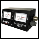 ASTATIC PDC 2 SWR /RF POWER/FIELD STRENGTH TEST METER