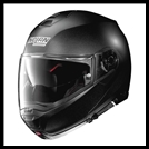 NOLAN N100-5 MODULAR FLIP-UP HELMET WITH VPS DROPDOWN INTERIOR SUNSCREEN - BLACK GRAPHITE