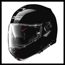 NOLAN N100-5 MODULAR FLIP-UP HELMET WITH VPS DROPDOWN INTERIOR SUNSCREEN - BLACK
