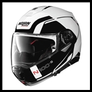 NOLAN N100-5 MODULAR FLIP-UP HELMET W/ VPS DROPDOWN INTERIOR SUNSCREEN - CONSISTENCY METALLIC WHITE