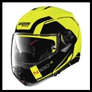 NOLAN N100-5 MODULAR FLIP-UP HELMET W/ VPS DROPDOWN INTERIOR SUNSCREEN - CONSISTENCY YELLOW