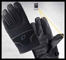 OLYMPIA 730 MEN'S TOUCH SCREEN ENABLED GLOVE - BLACK