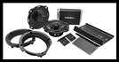 Rockford Fosgate - Harley-Davidson Street Glide and Road Glide Front Audio Kit (1998-2013)