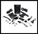 Rockford Fosgate - Harley-Davidson Amplifier Installation Kit (1998+)