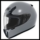SHOEI RF-SR FULL-FACE HELMET - BASALT GREY