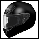 SHOEI RF-SR FULL-FACE HELMET - BLACK