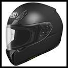 SHOEI RF-SR FULL-FACE HELMET - MATTE BLACK