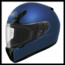 SHOEI RF-SR FULL-FACE HELMET - MATTE BLUE