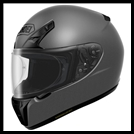 SHOEI RF-SR FULL-FACE HELMET - MATTE DEEP GREY