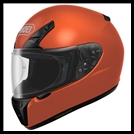 SHOEI RF-SR FULL-FACE HELMET - TANGERINE ORANGE