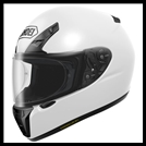 SHOEI RF-SR FULL-FACE HELMET - WHITE