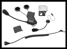 SENA 20S Helmet Clamp Kit for CB/Audio of Honda GoldWing