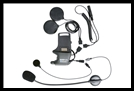 SENA SMH10 Helmet Clamp Kit - Attachable Boom & Wired Microphone - For Speakers And Earbuds