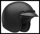 VEGA CO5 JR. OPEN FACE YOUTH HELMET - MATTE BLACK