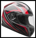 VEGA MACH 2.0 JR. FULL FACE YOUTH HELMET - TECH RED GRAPHIC