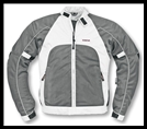 VEGA TECHNICAL GEAR - MEN'S MERCURY MESH JACKET - SILVER