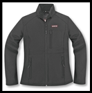 VEGA TECHNICAL GEAR - LADIES MSS SOFT SHELL JACKET - BLACK