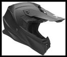 VEGA MIGHTY X2 JR. OFF-ROAD HELMET - MATTE BLACK