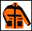 VEGA TECHNICAL GEAR - RAIN JACKET - HI-VIS ORANGE