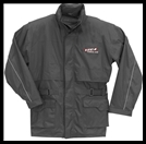 VEGA TECHNICAL GEAR - RAIN JACKET - BLACK