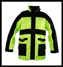 VEGA TECHNICAL GEAR - RAIN JACKET - HI-VIS YELLOW