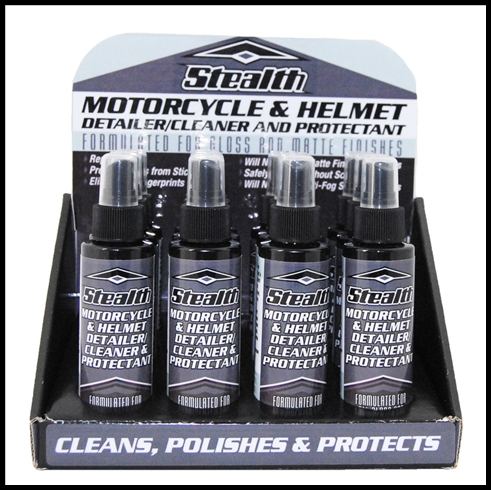 STEALTH MOTORCYCLE & HELMET CLEANER AND PROTECTANT