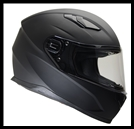 VEGA ULTRA FULL FACE HELMET - MATTE BLACK