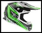 VEGA MIGHTY X2 JR. OFF-ROAD HELMET - GREEN TACTIC GRAPHIC
