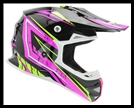 VEGA MIGHTY X2 JR. OFF-ROAD HELMET - PINK TACTIC GRAPHIC