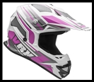 VEGA VRX OFF-ROAD HELMET - VENOM PINK GRAPHIC